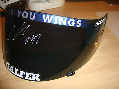 Race Used & Signed Alex Rins Visor - Not A Replica! - Not Rossi - Yamaha