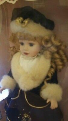 Victorian collection porcelain doll