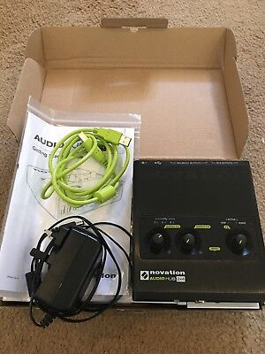 Novation Audio hub 2x4 Audio Interface And USB Hub (boxed)