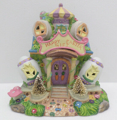 Happy Easter Gift Store Ceramic Easter Village