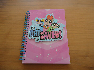 Powerpuff Girls.The Day is Saved.Lined notebookA5. New