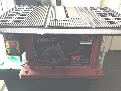 "Power Devil 10"" Table Saw"