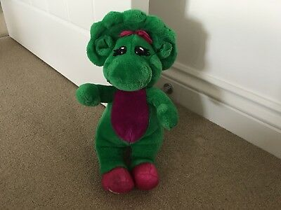 """Vintage 1992 Barney and Friends BABY BOP 14"""" Plush"""