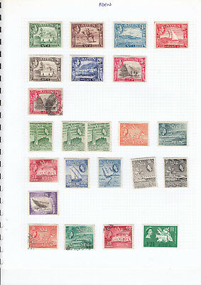 Aden stamps mint & used on album page