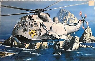 """1/72 Cold War Helicopter : Westland Seaking """"Flying Tigers"""" [Royal Navy]: FUJIMI"""