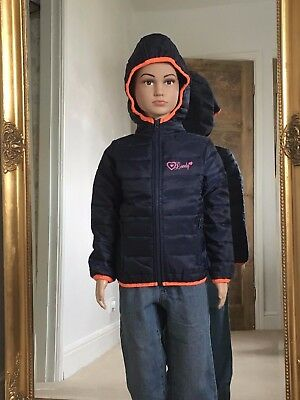 Joblot of childrens padded jackets