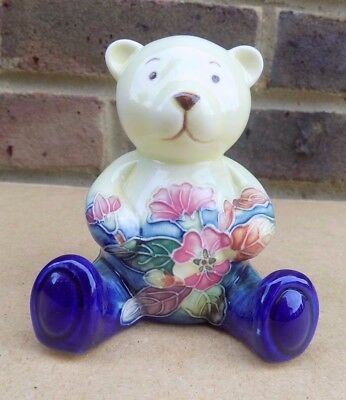 OLD TUPTON WARE Hand Painted Teddy Bear Figure