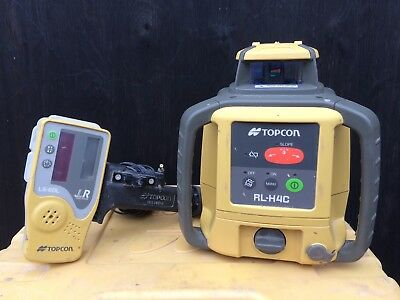 Topcon RL-H4C Rotating Laser Level With Receiver Ls -80L
