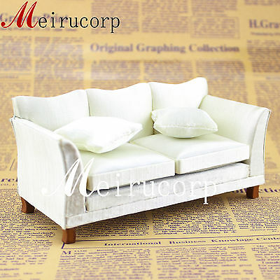 Dollhouse furniture Fine 1/12 scale Miniature Simple Sofa model