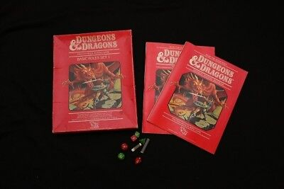 Dungeons and Dragons Red Box 1st Edition Basic Set 1