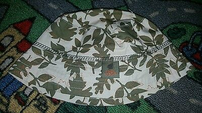 BABY BOYS Sz 0 - 1 green TARGET camouflage hat CUTE! CAMMO!