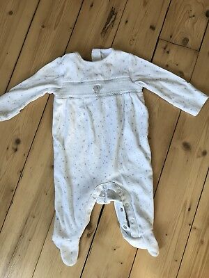 Lovely Little White Company Sleepsuit 0-3 Months