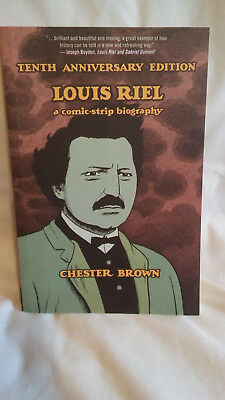 Louis Riel Tenth Anniversary Edition Trade Paperback