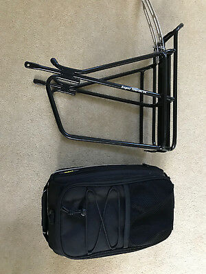 TOPEAK MTX Trunk With Super Tourist DX Rack Cyling Bike Luggage