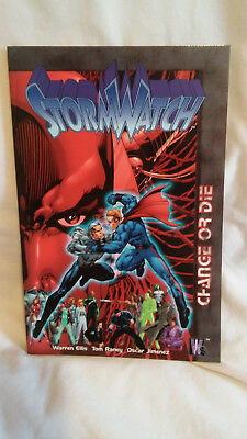 Stormwatch Change or Die Trade Paperback