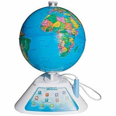 Oregon Scientific Smart Globe Discovery Educational World Geography Kids - Le...