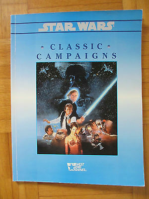 Star Wars – CLASSIC CAMPAIGNS - 40108 Roleplaying Game Sourcebook Guide RPG WEG