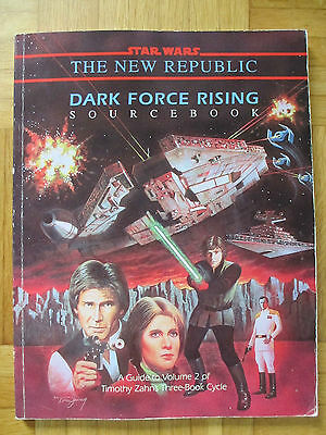 Star Wars – DARK FORCE RISING – 40074 Roleplaying Game Sourcebook Guide Zahn RPG