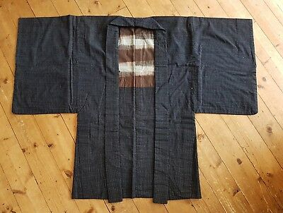 genuine vintage indigo kimono jacket from japan