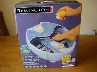 Remington Aromatherapy Foot Spa
