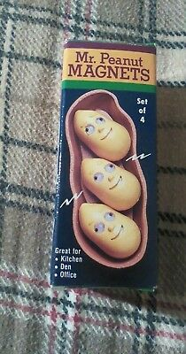 Mr. Peanut Magnets