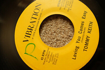 ♫ Tommy Keith Loving You Comes Easy Modern Soul Funk 7 1978 Vibration Listen