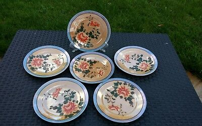 Hand Painted  Japanese Plates