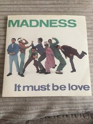 "Madness - It Must Be Love 7"" Single"