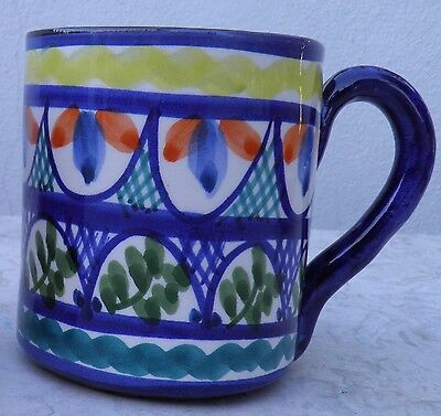 Portuguese Traditional Hand Painted Mug Blue and Other Four Colors