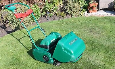 """GOOD CONDITION QUALCAST ELECTRIC 30cm (12"""") CYLINDER MOWER"""