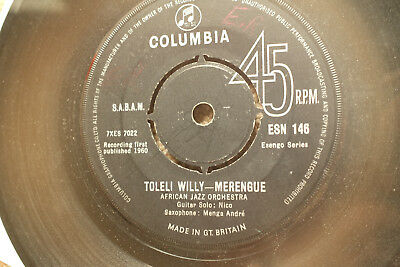 ♫TOLELI WILLY AFRICAN JAZZ ORCHESTRA MERENGUE AFRO LATIN FUNK NICO LISTEN astake