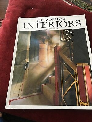 the World of Interiors Sept 1986
