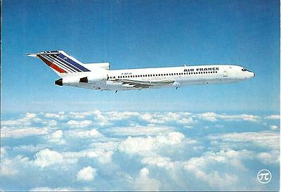 Air France - Boeing 727-200 - F-Bpjh - En Vol/in Flight - Cp - Carte Postale