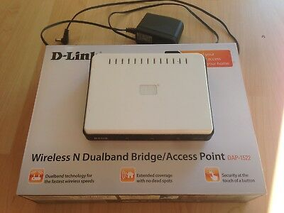 D-Link DAP-1522 Xtreme N Duo Wireless N Access Point
