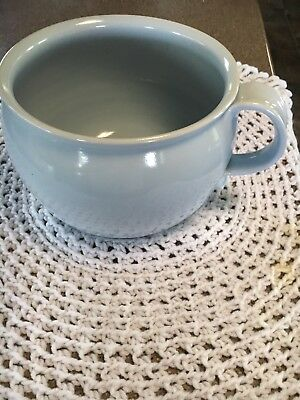 Light Blue Chamber Pot In Excellent Condition