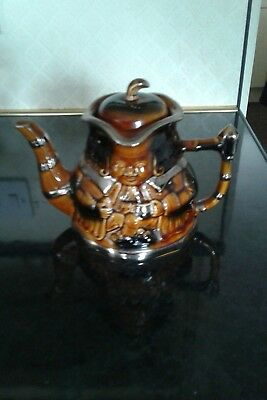 Vintage Teapot Made By Price..looks Like A Toby Jug!!!