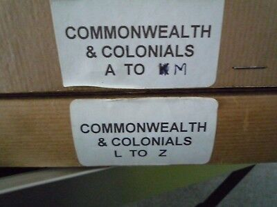 Stamp Collection Commonwealth