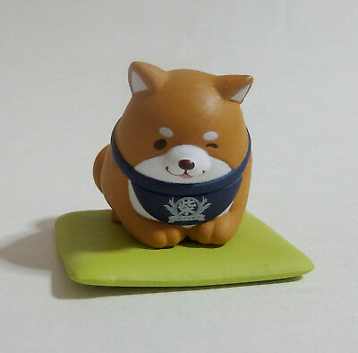 Capsule Toy Lovely Mochi Shiba Inu Dog wink Okaka Cushion Gashapon Japan