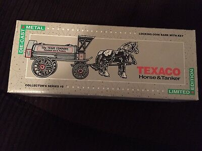 Texaco Die Cast Horse and Tanker