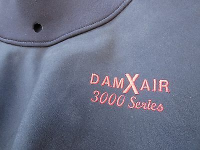 DAM  X Air 3000 series dry cag Large BLACK