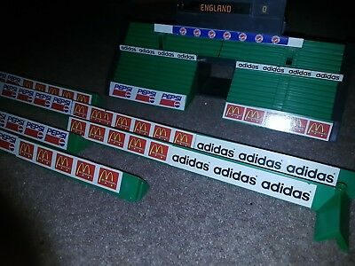 Subbuteo Mini Game, Stands, Hoarding, Score Board, Pro-Action pitches
