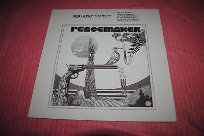 Per Husby Septett: Peacemaker. Norway Press 1976. Super Rare,stunning Condition