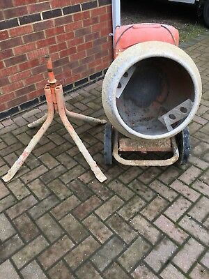 Cement Mixer.  Make: Belle Minimix 150
