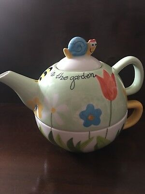 Tea For One Teapot Cup