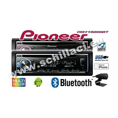 pioneer deh x5900bt autoradio cd usb aux bt mp3 multicolor android ready eur 103 95 picclick es. Black Bedroom Furniture Sets. Home Design Ideas