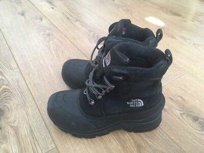 Boy's 'THE NORTH FACE' Outdoor Walking / Winter Boots - SIZE 1