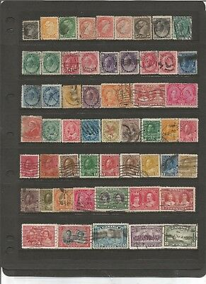Canada Small Stamp Collection Remainders
