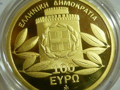 Griechenland  100 Euro Gedenkmünze 2012  - THESALLONIKI - Gold Proof