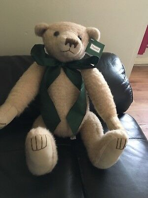 Harold Limited Edition Jointed Teddy By Pam Howells Manchester England