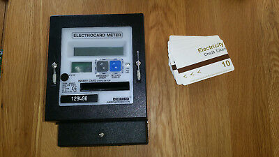 Digicard Ampy Automation Electrocard Meter and cards